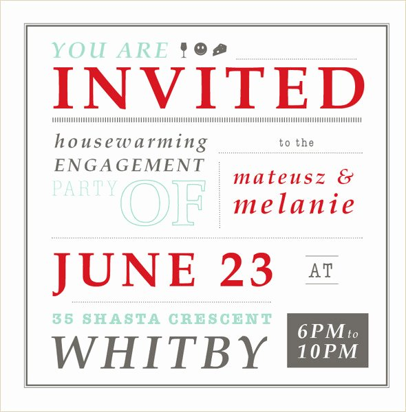 Housewarming Invitation Template Free Awesome 35 Housewarming Invitation Templates Psd Vector Eps