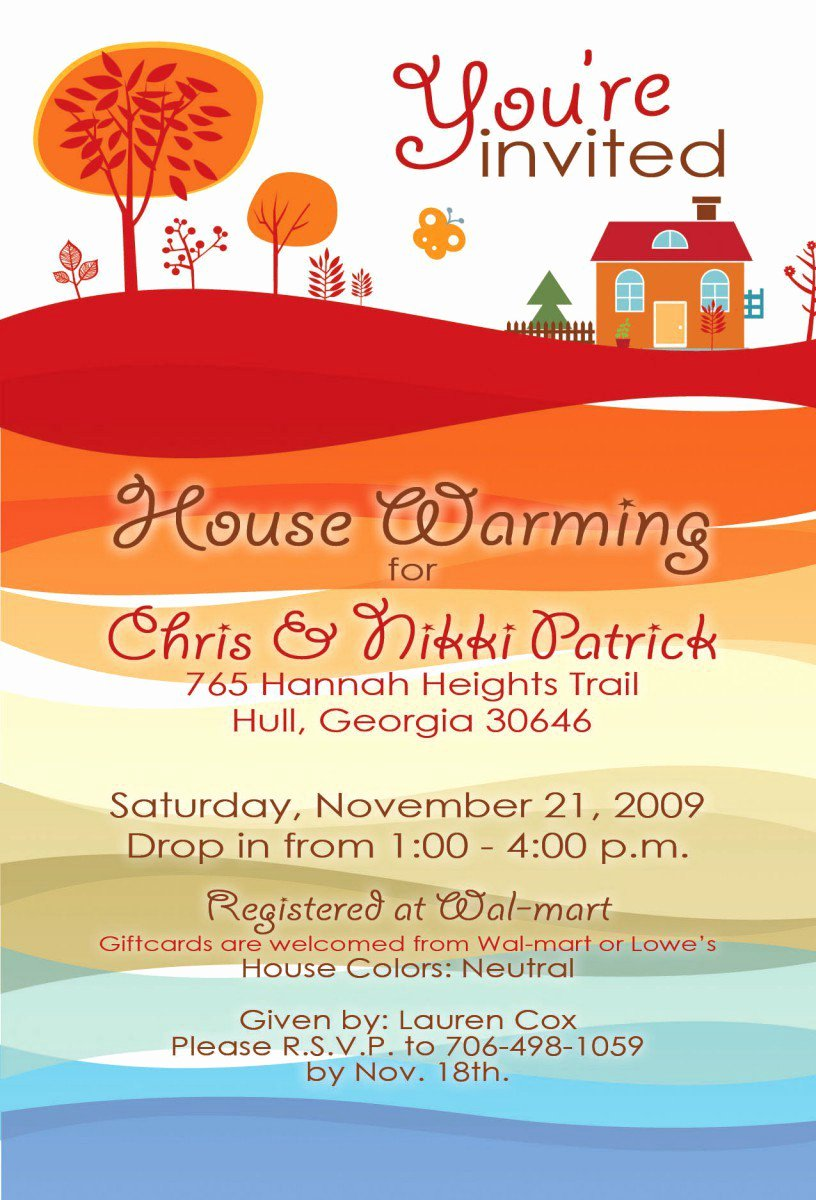 Housewarming Invitation Template Free Beautiful Printable Housewarming Invitations Free