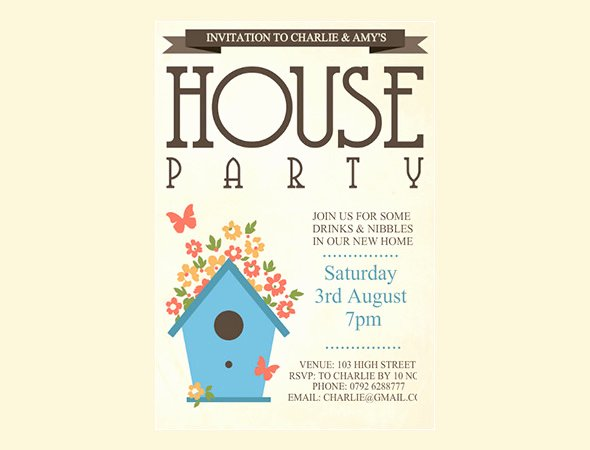 Housewarming Invitation Template Free Best Of 35 Housewarming Invitation Templates Psd Vector Eps