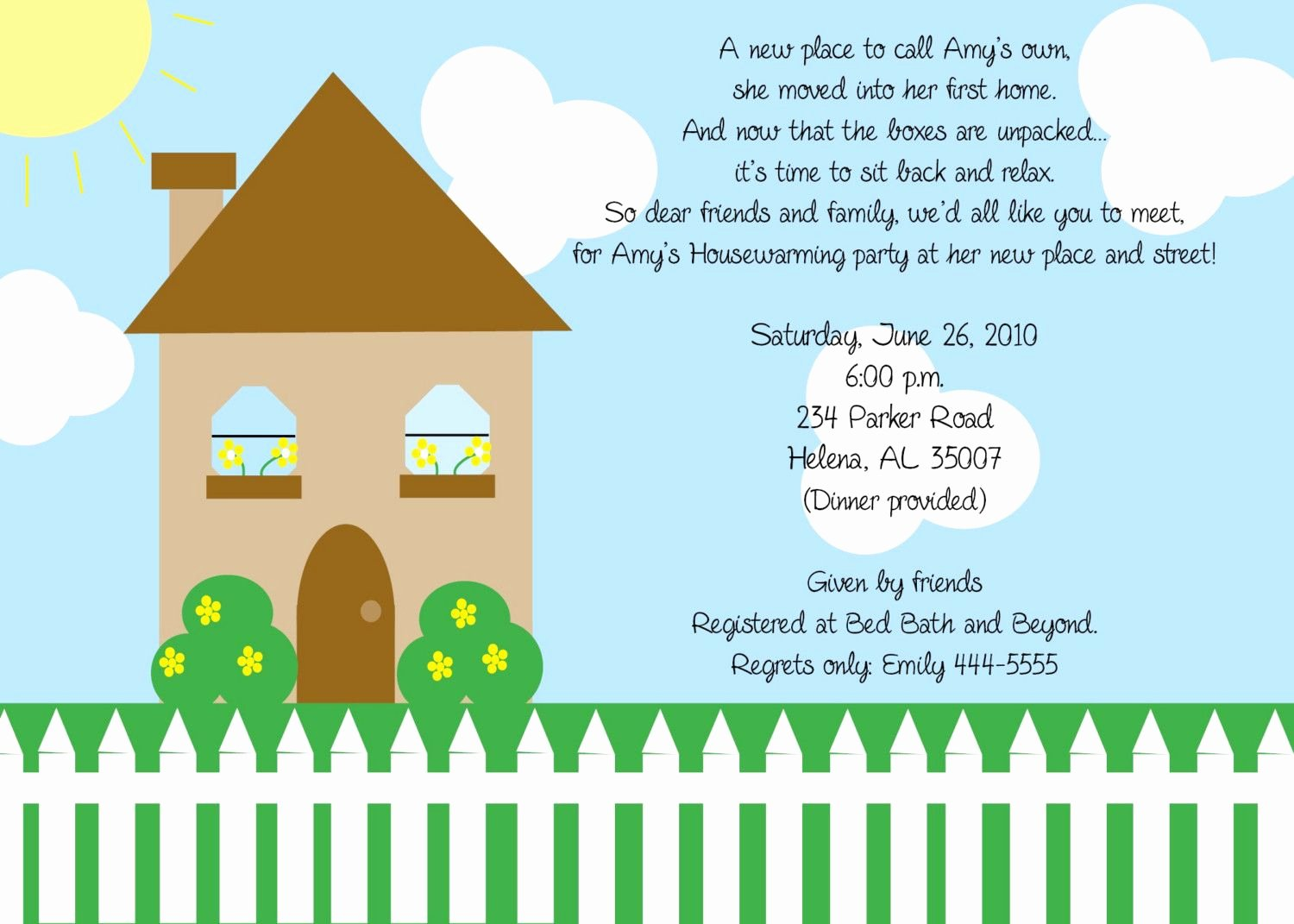 Housewarming Invitation Template Free Lovely Free Printable Housewarming Party Templates