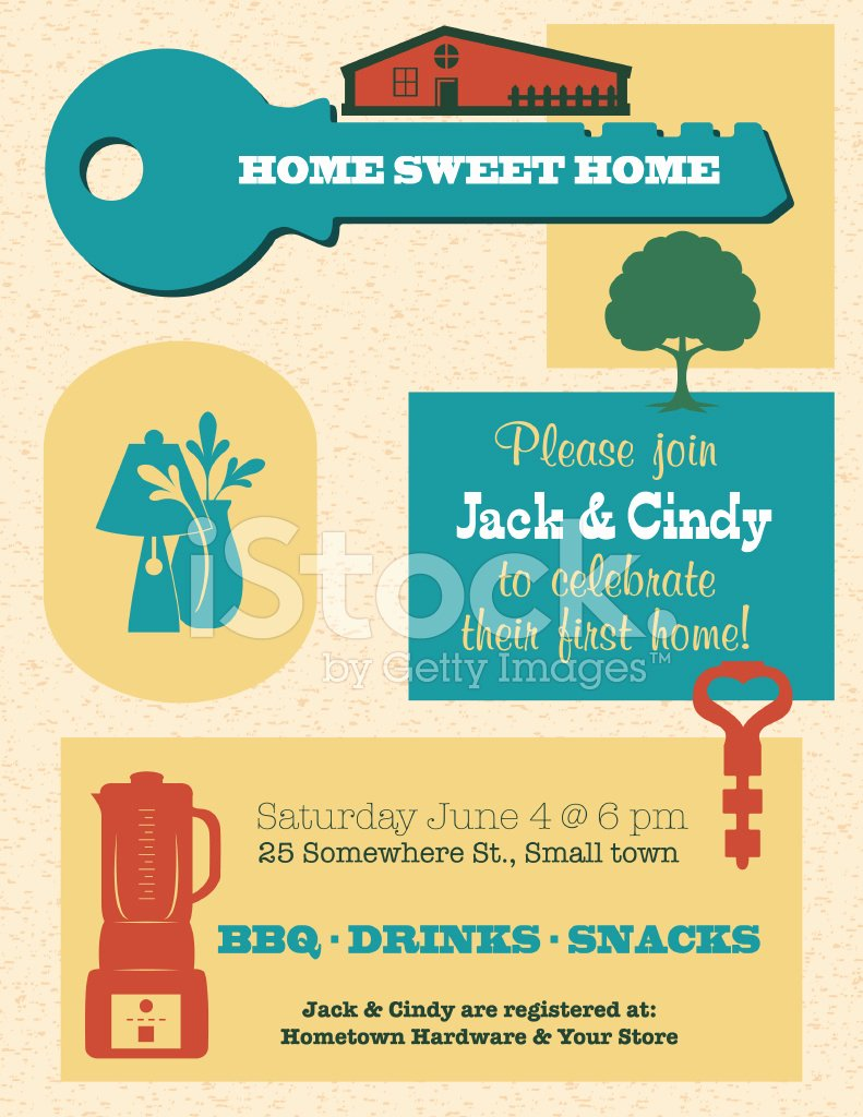 Housewarming Invitation Template Free Unique Housewarming Invitation Template Stock Photos Free