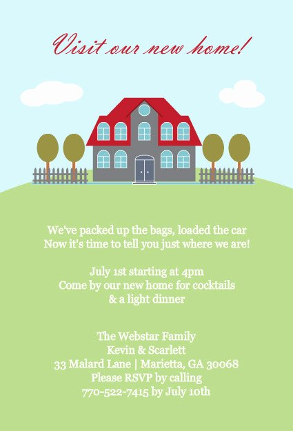 Housewarming Invitation Template Free Unique Printable Housewarming Invitations Template
