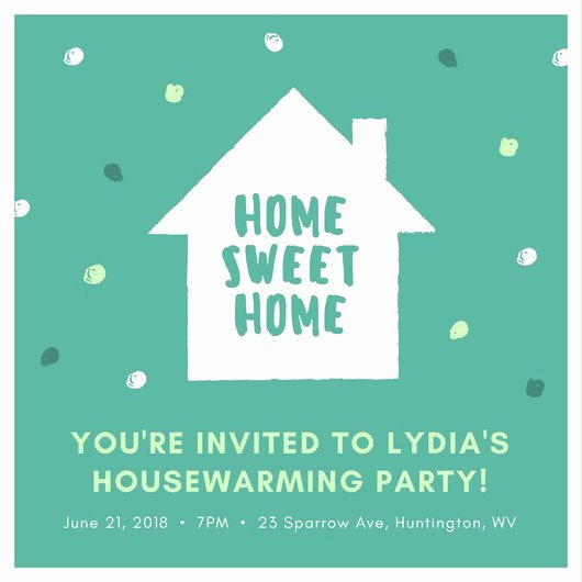 Housewarming Party Invitation Template Awesome Customize 39 Housewarming Invitation Templates Online Canva