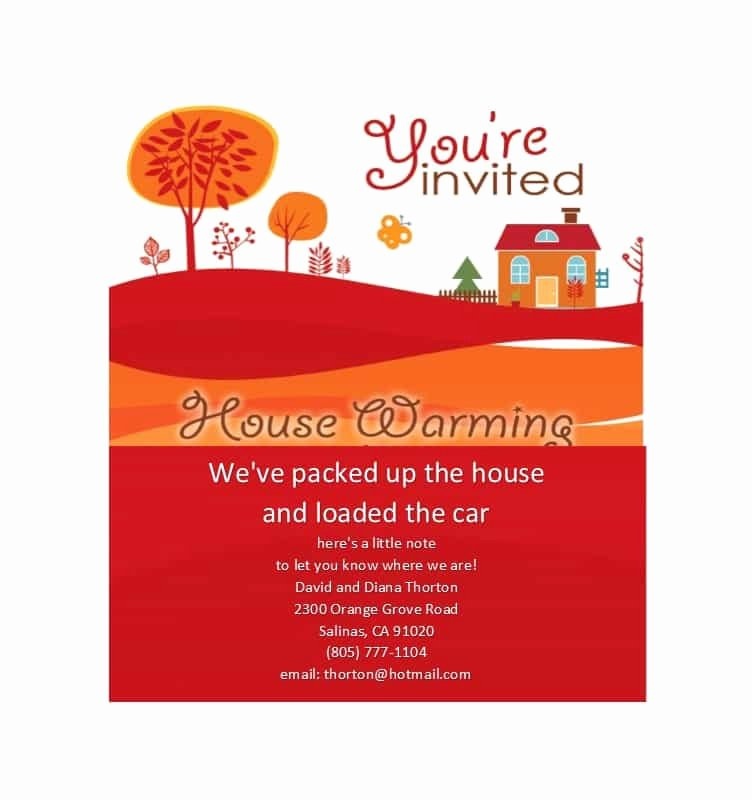 Housewarming Party Invitation Template Best Of 40 Free Printable Housewarming Party Invitation Templates