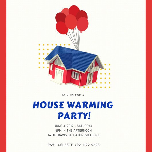 Housewarming Party Invitation Template Elegant House Warming Invitation Templates by Canva