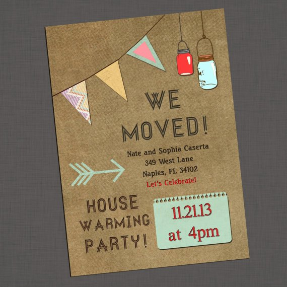 Housewarming Party Invitation Template Elegant Housewarming Party Invitations Template