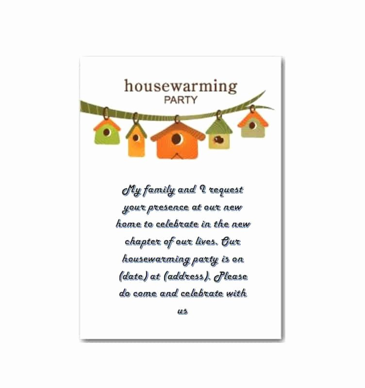 Housewarming Party Invitation Template Fresh 40 Free Printable Housewarming Party Invitation Templates
