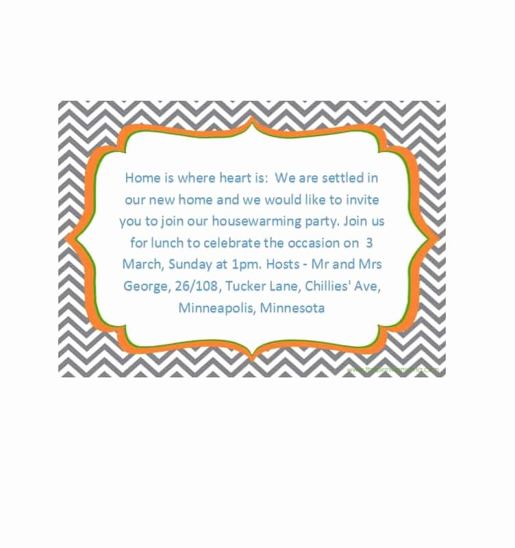 Housewarming Party Invitations Template Best Of 40 Free Printable Housewarming Party Invitation Templates