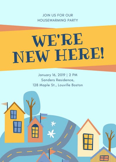 Housewarming Party Invitations Template Best Of Housewarming Invitation Templates Canva
