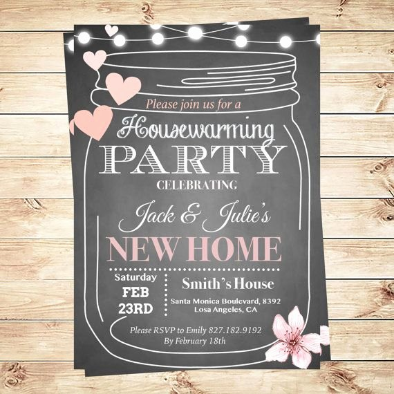 Housewarming Party Invitations Template Fresh Best 25 Housewarming Party Invitations Ideas On Pinterest