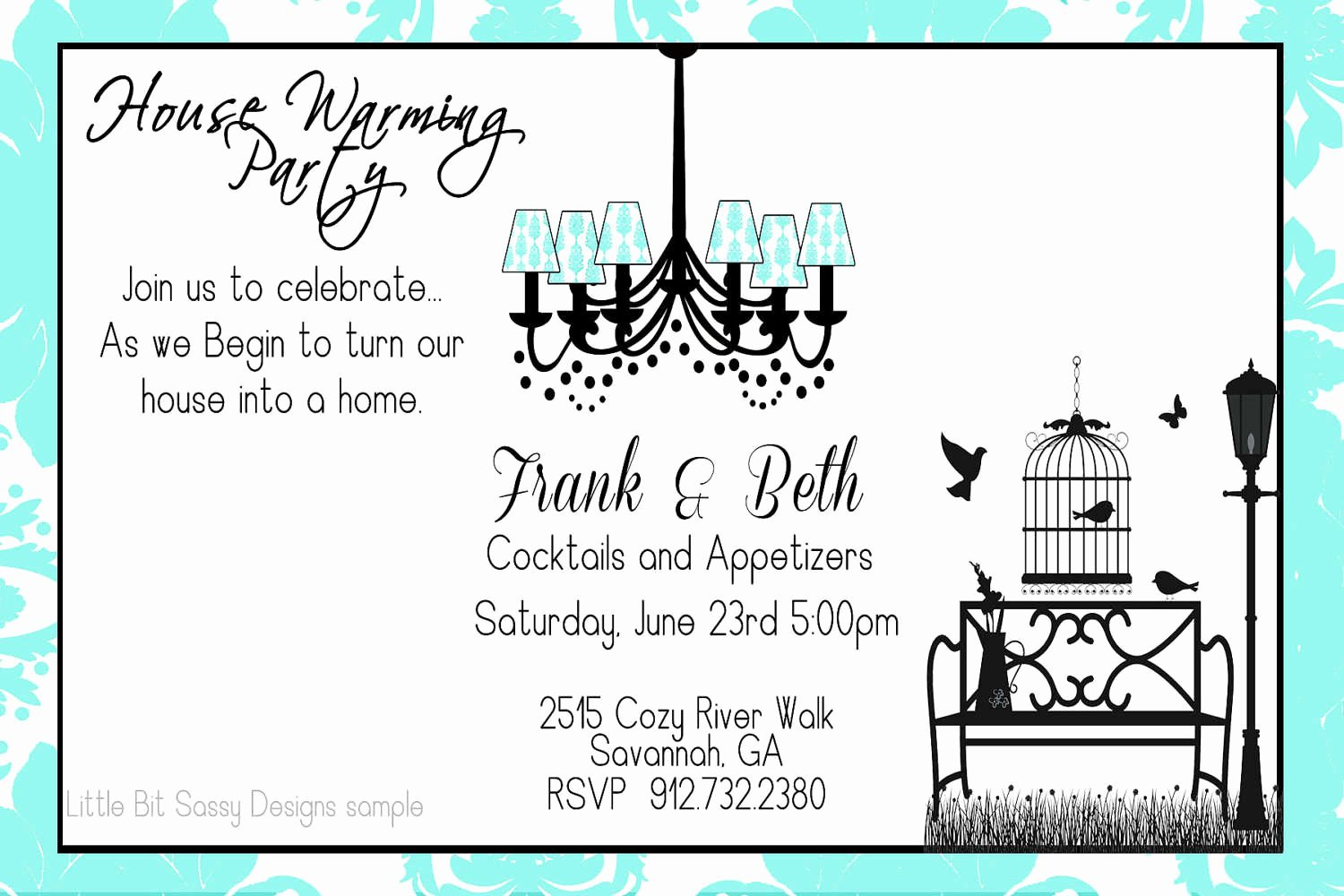 Housewarming Party Invitations Template Inspirational Housewarming Party Invitations Template