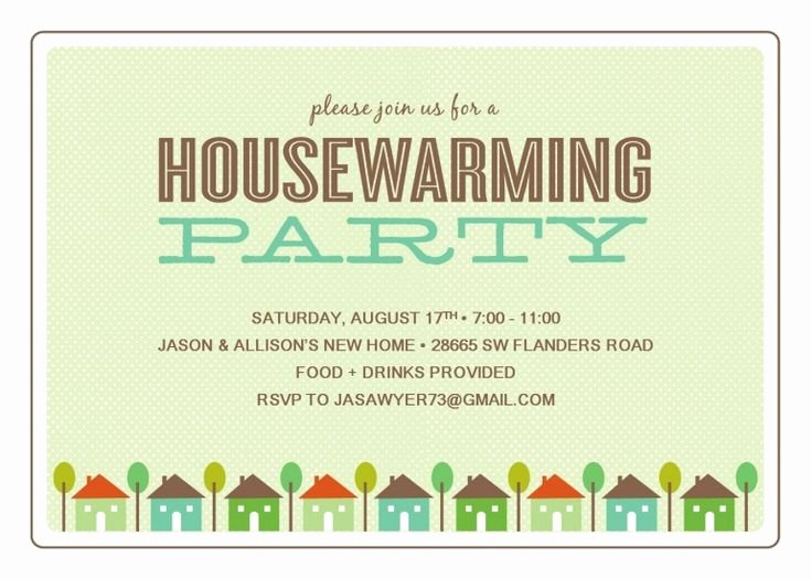 Housewarming Party Invitations Template New Free Printable Housewarming Party Templates