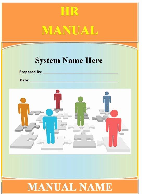 Human Resource Manual Template Beautiful Human Resource Procedure Manual Template Gamingtopp