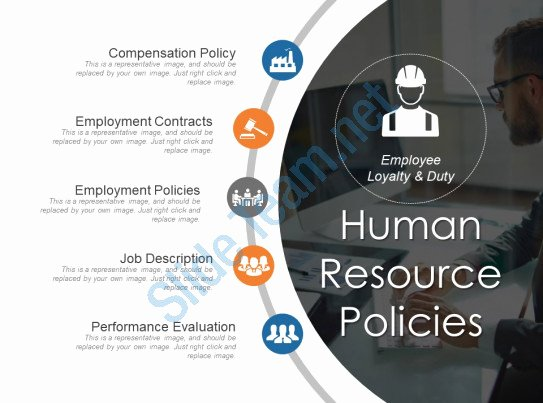 Human Resource Policy Template New Human Resource Policies Sample Ppt Presentation