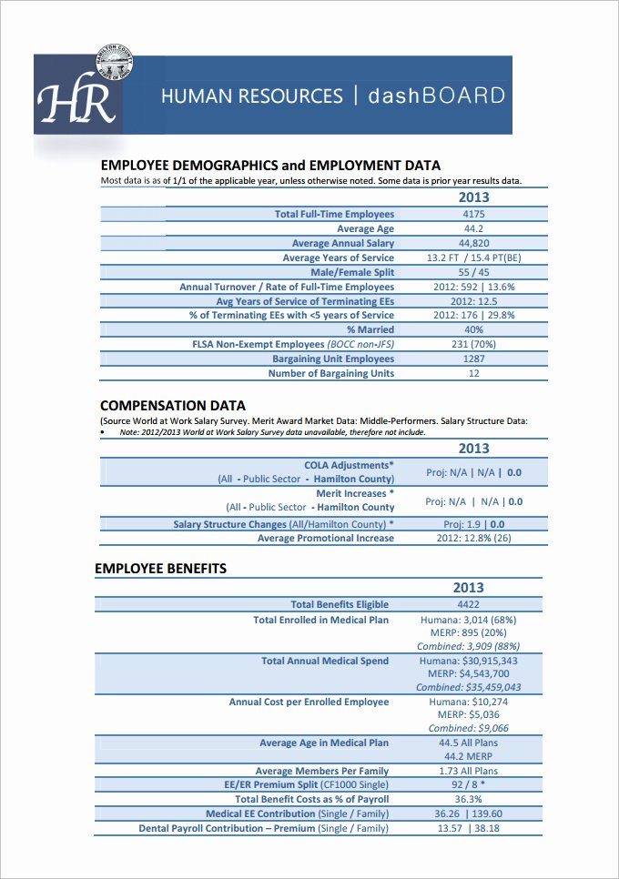Human Resources Dashboard Template Lovely Hr Dashboard Template 21 Free Word Excel Pdf