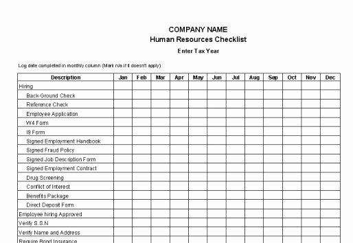 Human Resources Documents Template Lovely Payroll Controls and Procedures Vitalics