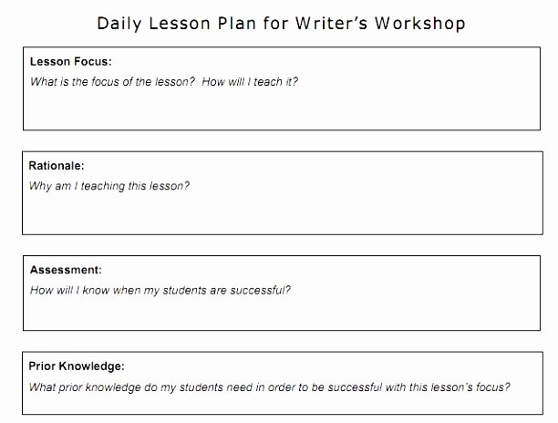 madeline hunter lesson plan template word