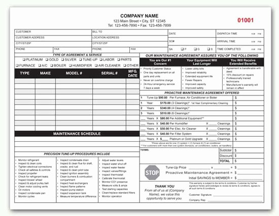 Hvac Service Contract Template Inspirational Hvac Contract Custom Hvac Contract form