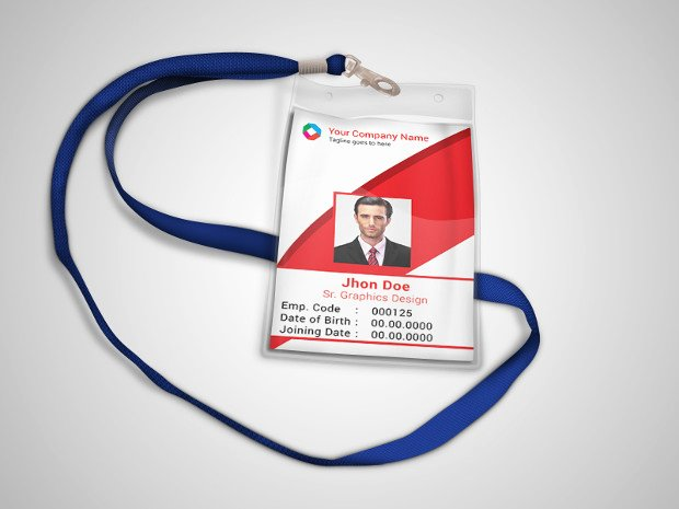 Id Badge Template Photoshop Inspirational 16 Id Card Psd Templates & Designs
