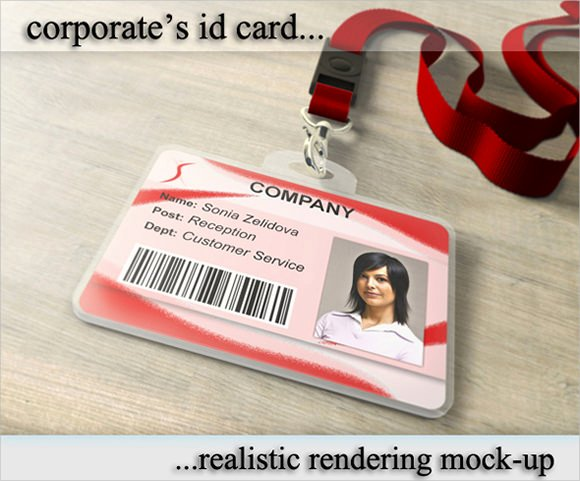 Id Badge Template Photoshop Inspirational 36 Amazing Id Card Templates Ai Word Apple Pages