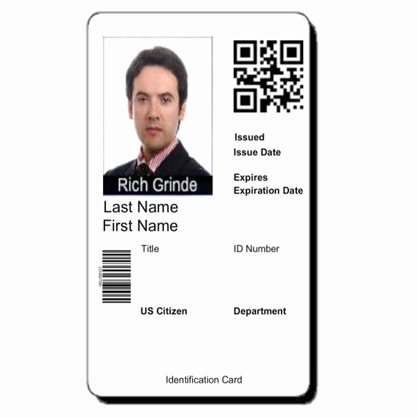 Id Badge Template Photoshop Unique 8 Best Of Student Id Card Shop Templates