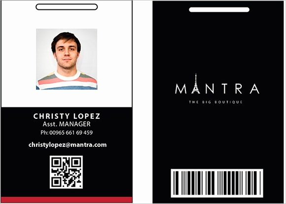 Id Badge Template Photoshop Unique Id Card Template 19 Download In Psd Pdf Word