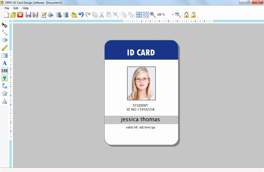 Id Badge Template Word Awesome Id Card Template