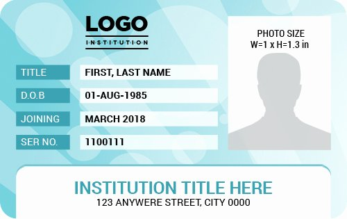 Id Badge Template Word Best Of Ms Word Id Badge Templates for All Professionals