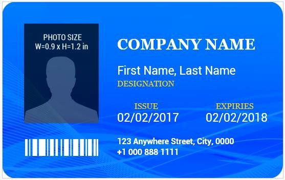 Id Badge Template Word New Ms Word Id Badge Templates for All Professionals