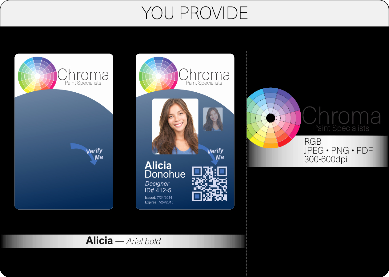 Id Card Size Template Beautiful Id Card Layout and Artwork Guidelines