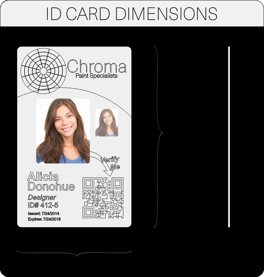 Id Card Size Template Lovely Id Card Layout and Artwork Guidelines