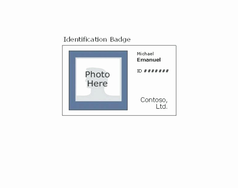 Id Card Size Template Luxury Id Card Size Template – Hydrellatonefo