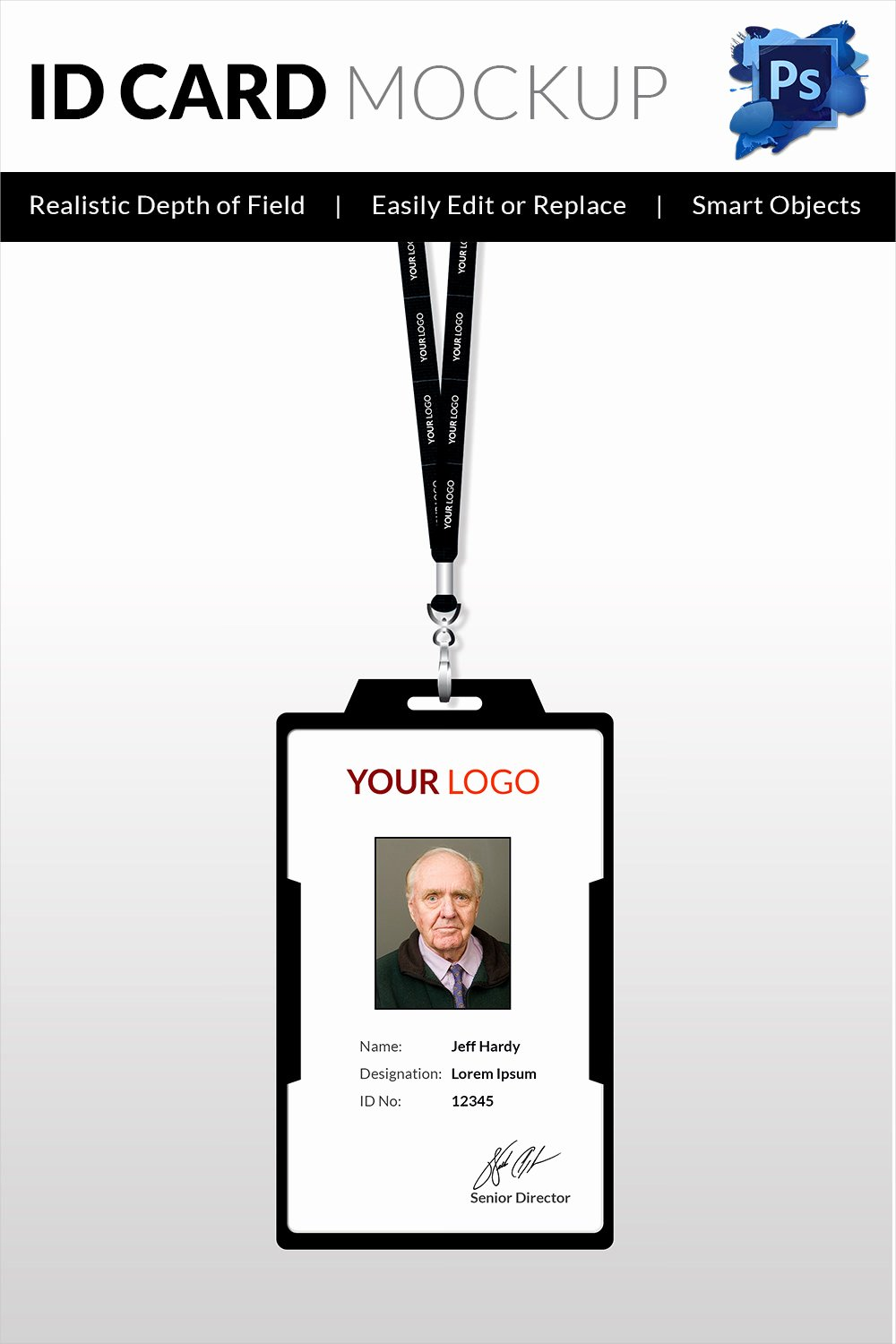 Id Card Size Template New 18 Id Card Templates – Free Psd Documents Download