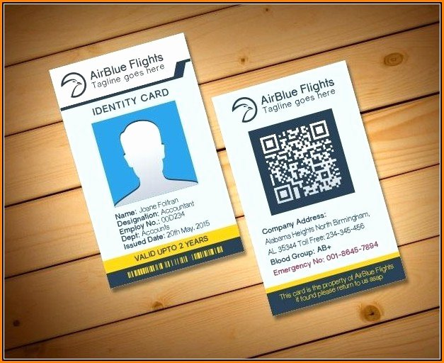 Id Card Template Photoshop Awesome Pvc Id Card Template Shop Template 1 Resume