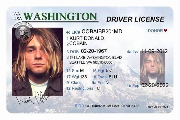 Id Card Template Photoshop Elegant 38 Best Driver License Templates Photoshop File Images On