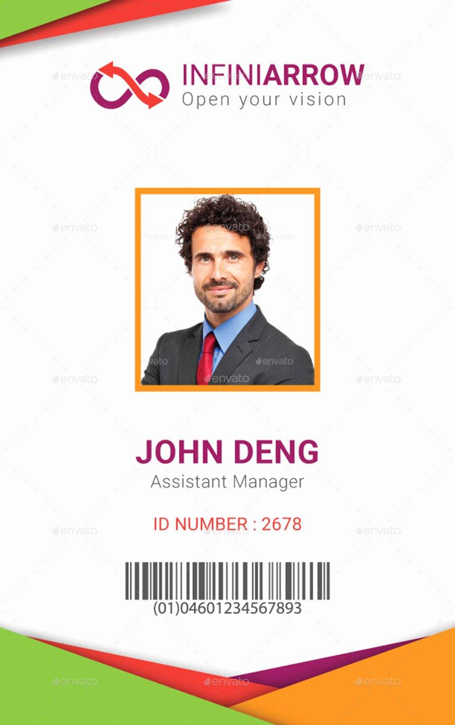 Id Card Template Photoshop Elegant Multipurpose Business Id Card Template by Dotnpix