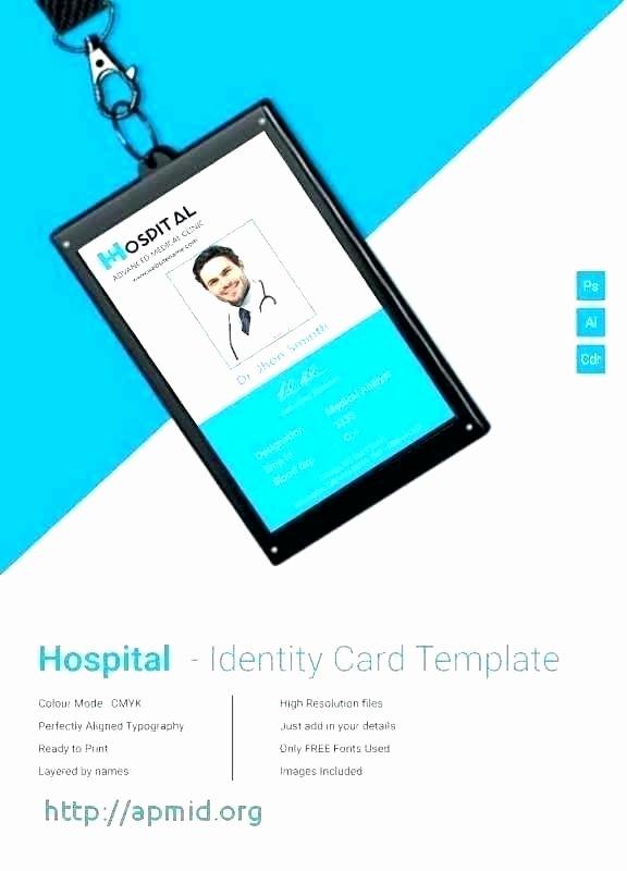 Id Card Template Photoshop Luxury Employee Id Card Template Badge Shop – Eyoncefo