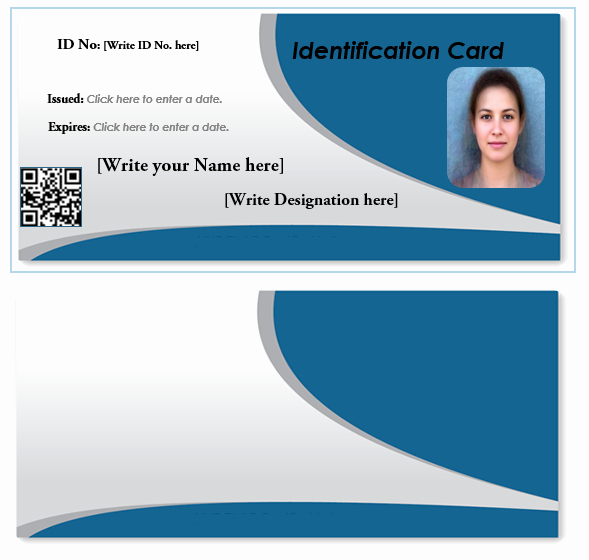 Id Card Template Word Best Of How to Make Id Card In Ms Excel How to Make Id Cards Mp4