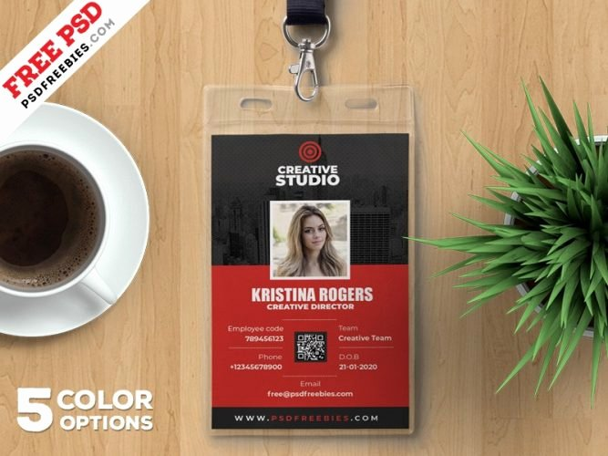 Identity Card Template Psd Awesome Download Free Card & Invites Psd Download Psd