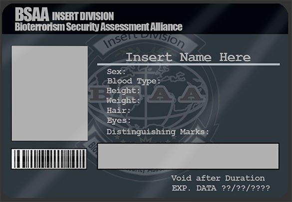 Identity Card Template Psd Elegant 29 Id Card Templates Psd