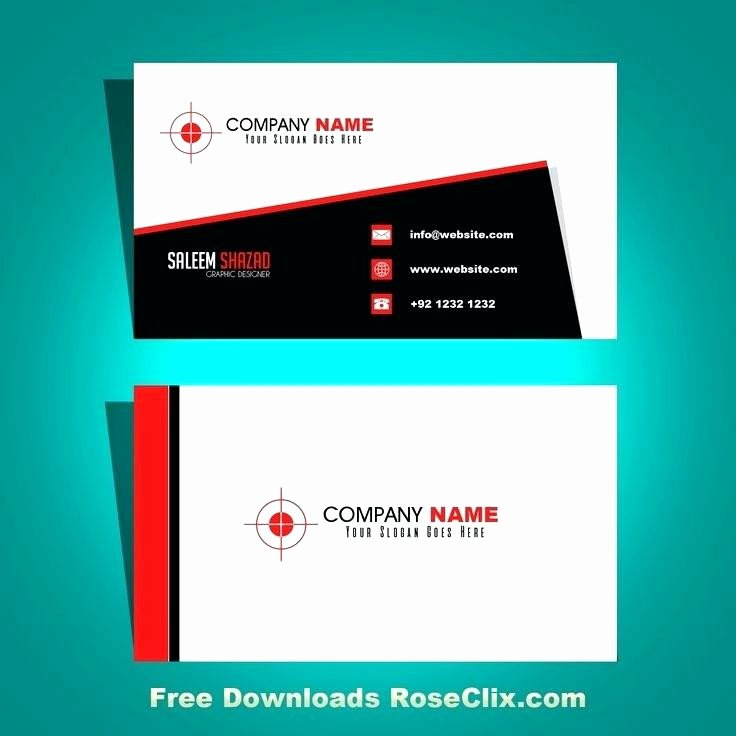 Illustrator Business Card Template Awesome 15 New Illustrator Business Card