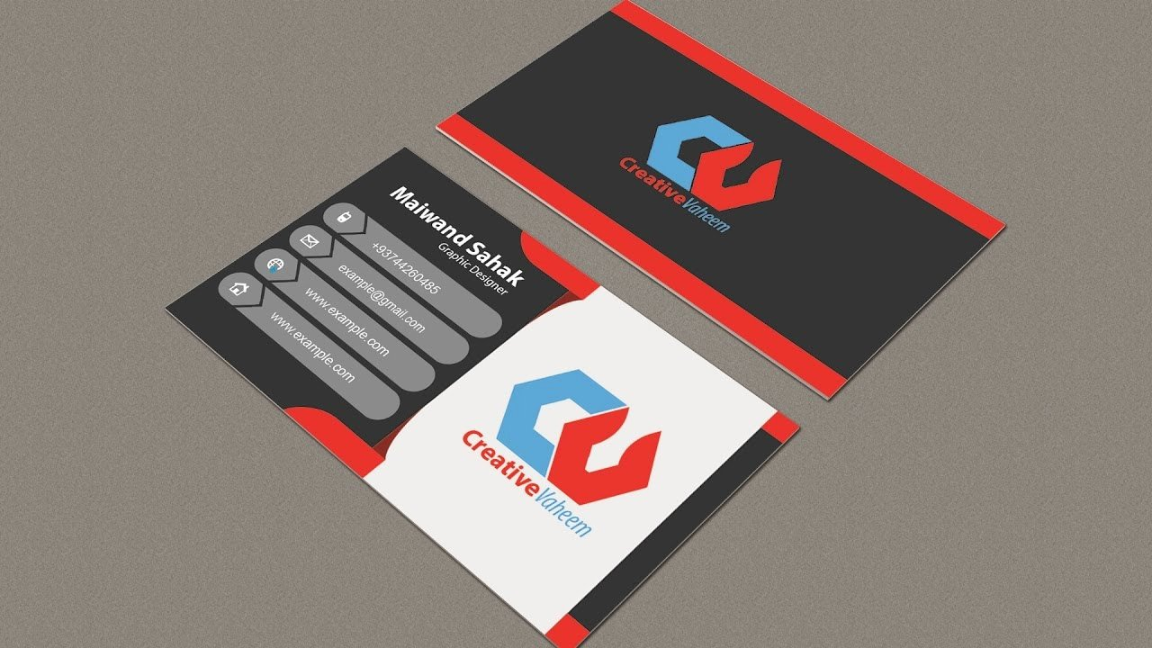 Illustrator Business Card Template Best Of Business Card Design