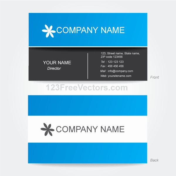 Illustrator Business Card Template Best Of Corporate Business Card Template Illustrator