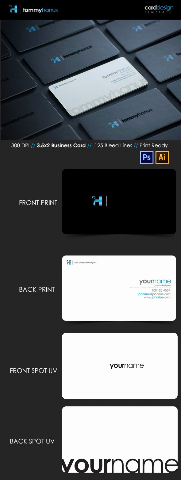 Illustrator Business Card Template Fresh 15 Premium Business Card Templates In Shop