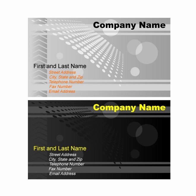 Illustrator Business Card Template Fresh Illustrator Business Card Template Graphics Download at