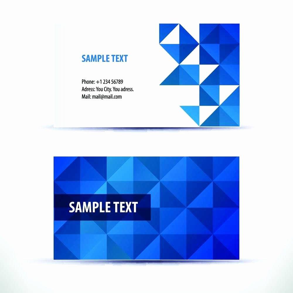 Illustrator Business Card Template Inspirational Adobe Illustrator Business Card Template Free Fresh