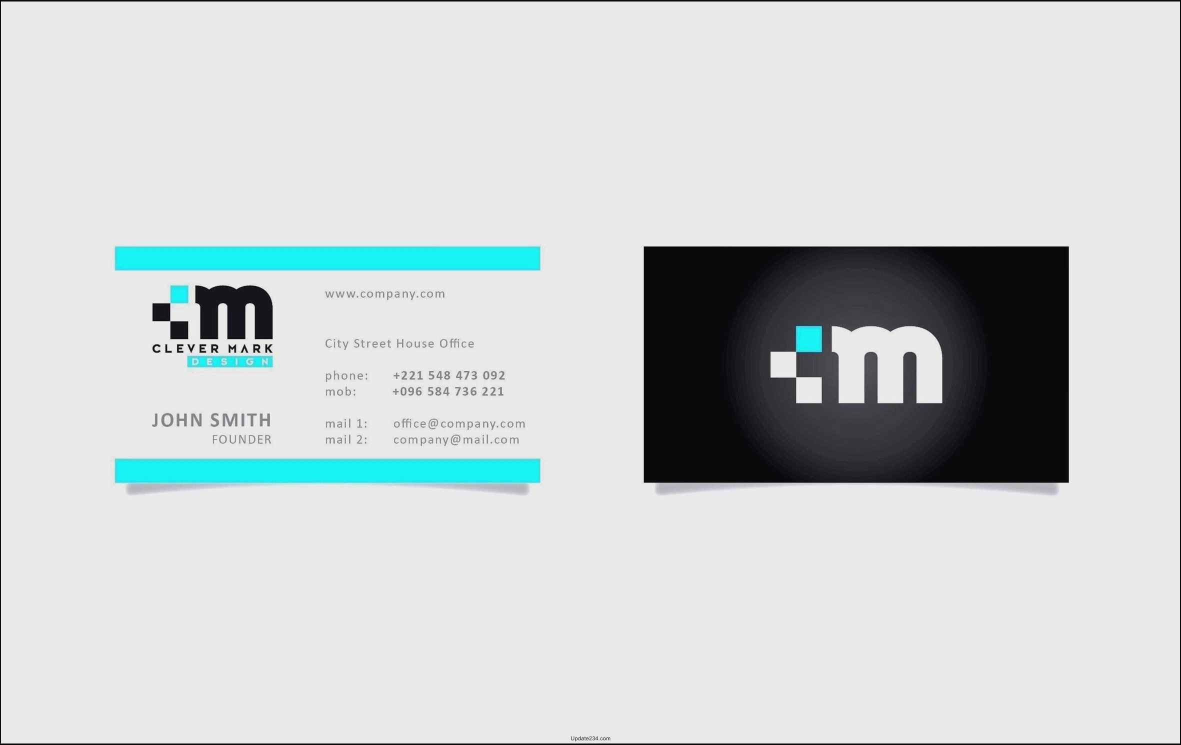 Illustrator Business Card Template Lovely Adobe Illustrator Business Card Template Template