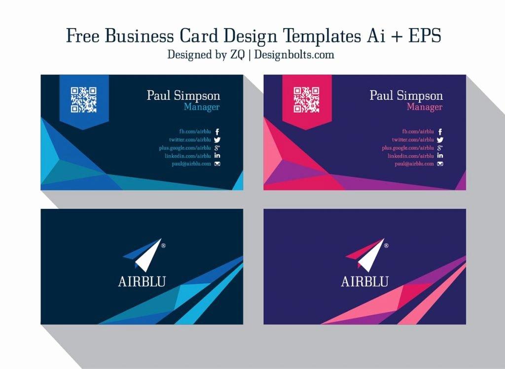 Illustrator Business Card Template Luxury 15 Business Cards Templates Illustrator
