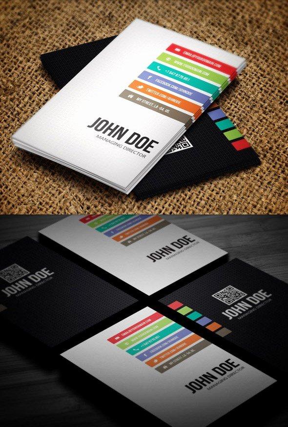 Illustrator Business Card Template Unique Business Card Illustrator Template Free – Beautiful
