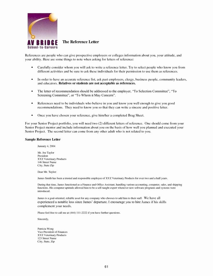 Immigration Reference Letter Template Unique Best Immigration Reference Letter Sample – Letter format